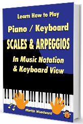 Learn Piano Keyboard Scales - jpeg