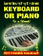 Learn How to Play Electronic Keyboard or Piano in a Week! - jpeg